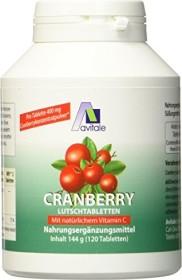 Avitale Cranberry Lutschtabletten, 120 Stück