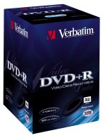 Verbatim DVD+R 4.7GB 2.4x, 100-pack Videobox