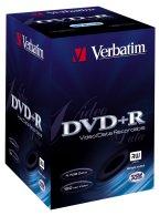 Verbatim DVD+R 4.7GB 2.4x, 20-pack Videobox