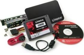 Kingston SSDNow V+ Drive - Bundle - 128GB, SATA (SNVP325-S2B/128GB)