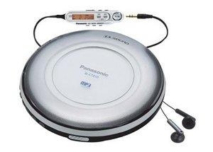 Panasonic SL-CT510 srebrny
