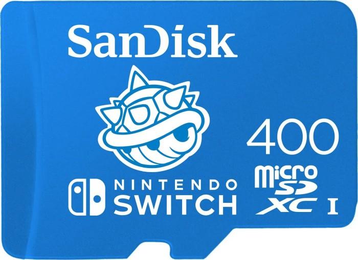 SanDisk Nintendo Switch R100/W90 microSDXC 400GB, UHS-I U3, Class 10 (SDSQXAO-400G-GNCZN)