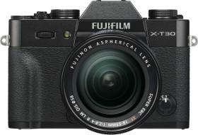 Fujifilm X-T30 schwarz mit Objektiv XF 18-55mm 2.8-4.0 R LM OIS