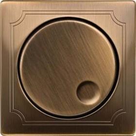 Merten Antik Zentralplatte, antikmessing (MEG5250-4143)