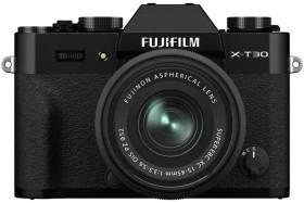 Fujifilm X-T30 schwarz mit Objektiv XC 15-45mm 3.5-5.6 OIS PZ