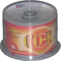 Sunstar CD-R 80min/700MB, 50-pack