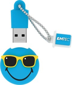 Emtec SW109 Smiley World Hawaii-Edition Mr Hawaii blau 8GB, USB-A 2.0 (ECMMD8GSW109)