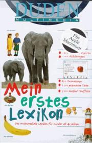Bibliographisches Institut Duden - Mein erstes Lexikon (deutsch) (MAC)