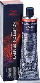 Wella Koleston Perfect Me+ Vibrant Reds Haarfarbe 77/46 mittelblond-intensiv rot violett, 60ml