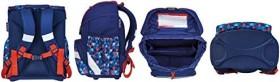 Herlitz Ultra Light Geometric School Bags set 4-piece. (50026838)