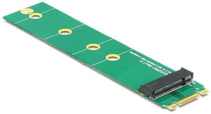 DeLOCK adapter M.2 NGFF key B+M male > M.2 NGFF key B slot port saver (62549)