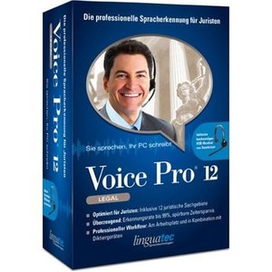 Linguatec: Voice Pro 12.0 - Legal Edition mit Headset (deutsch) (PC)
