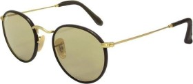Ray-Ban RB3475Q Round Craft 50mm brown-gold/brown classic (RB3475Q-112/53)