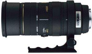 Sigma AF 50-500mm 4.0-6.3 EX DG APO HSM RF für Nikon F schwarz (736955)