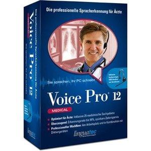 Linguatec: Voice Pro 12.0 - Medical Edition mit Headset (deutsch) (PC)