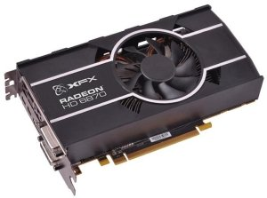 XFX Radeon HD 6870 900M Single Fan XFX-Design, 1GB GDDR5, 2x DVI, HDMI, 2x Mini DisplayPort (HD-687A-ZHFC)
