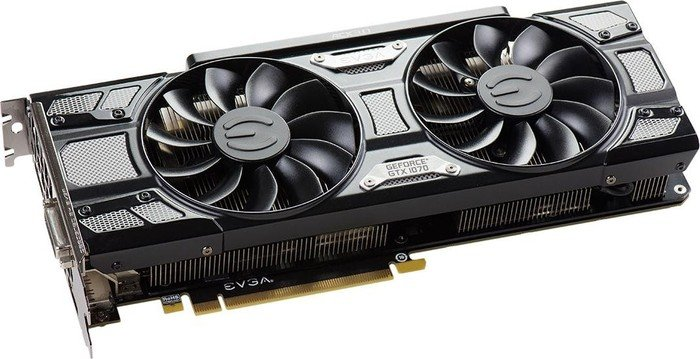 EVGA GeForce GTX 1070 SC Gaming ACX 3.0 Black Edition, 8GB GDDR5, DVI, HDMI, 3x DP (08G-P4-5173-KR)