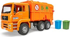 Bruder Profi-Serie MAN TGA Müll-LKW orange (02760)