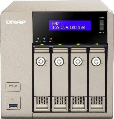 QNAP TVS-463, 4GB RAM, 2x Gb LAN
