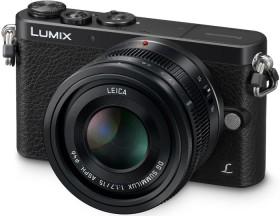Panasonic Lumix DMC-GM1L schwarz mit Objektiv DG Summilux 15mm 1.7 ASPH