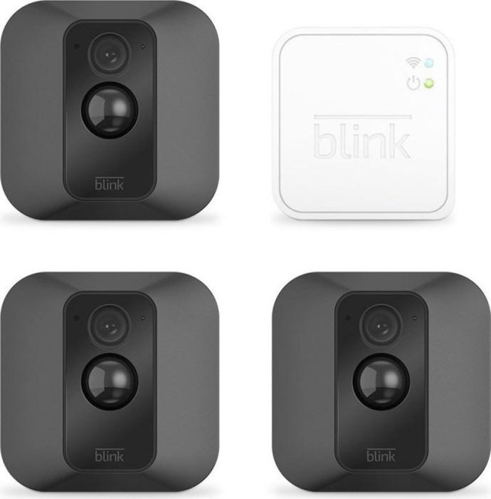 Blink 3x XT Outdoor Kamera schwarz + Sync-Modul, Set (B3SX3M31)
