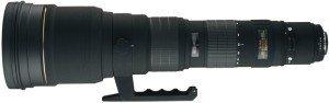 Sigma AF 300-800mm 5.6 EX DG APO HSM IF for Canon EF black (595954)
