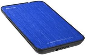 Sharkoon Quickstore portable blau, USB 2.0 Micro-B (9930)