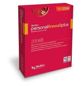 Network Associates: McAfee Personal firewall Plus 5.0 / 2004 (PC) (MCF50G001RAA)