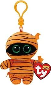 TY Clips Mumie Mask Schlüsselanhänger 8.5cm orange (35142)