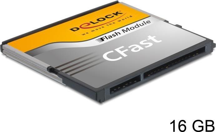 DeLOCK R310/W150 CFast Card [CFAST] 16GB (54649)
