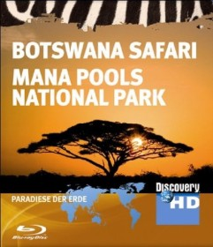 Discovery: Paradiese der Erde - Botswana Safari & Mana Pools National Park (Blu-ray)