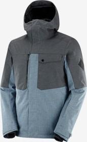 Salomon Powderstash Skijacke ashley blue/ebony (Herren) (C13981)