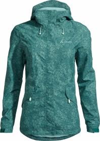 VauDe Rosemoor Floral Print Jacke nickel green (Damen) (42007-984)