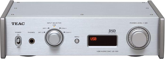 TEAC UD-501 silber (UD-501-S)