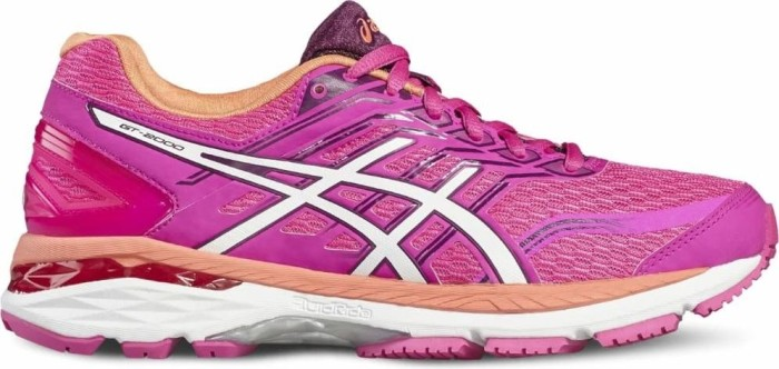 Asics GT-2000 5 pink glow/white/dark purple (Damen) (T757N-2001) ab € 45,99