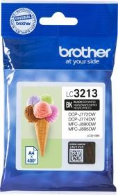 Brother Tinte LC3213BK schwarz