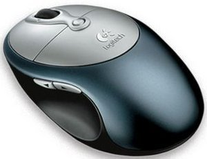 Logitech Cordless click! Plus Optical Mouse, PS/2 & USB (931173-0914)