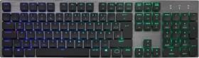 Cooler Master SK651, LEDs RGB, MX low profile RGB RED, USB/Bluetooth, DE (SK-651-GKLR1-DE)