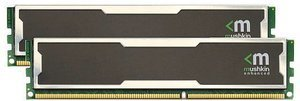 Mushkin Enhanced Silverline Stiletto DIMM kit 4GB, DDR2-800, CL5-5-5-18 (996760)