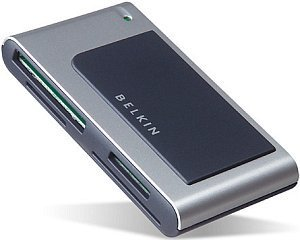 Belkin 8in1 Media Reader/Writer, USB 2.0 (CF/SM/MMC/MS/SD/MD) (F5U248)