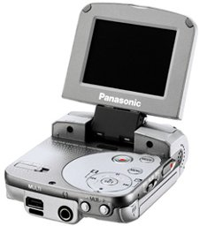 Panasonic D-Snap SV-AV25 srebrny