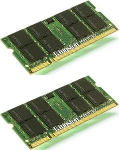 Kingston ValueRAM SO-DIMM Kit 4GB, DDR2-800, CL6 (KVR800D2S6K2/4G)