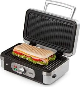 Sandwichmaker und Kontaktgrill Kombiger/ät mit Wechselplatten starke 1000 Watt 3in1 Waffeleisen