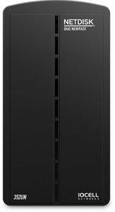 IOCell Netdisk Duo 352UN, USB 2.0/Gb LAN