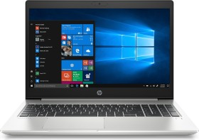 HP ProBook 450 G7 grau, Core i3-10110U, 8GB RAM, 256GB SSD, beleuchtete Tastatur, Fingerprint-Reader, Windows 10 Pro (8MH53EA#ABD)