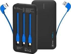 XLayer Powerbank Plus All-in-One PD 18W 10.000 schwarz (214459)