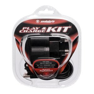 Snakebyte Play & Charge kit (PS3)
