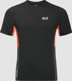 Jack Wolfskin Narrows Shirt kurzarm schwarz (Herren) (1807351-6000)