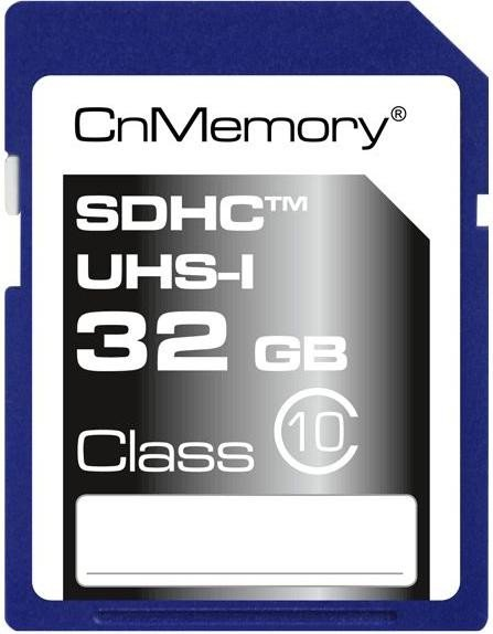 CnMemory Ultra High Speed R45 SDXC 64GB, UHS-I, Class 10 (75588)