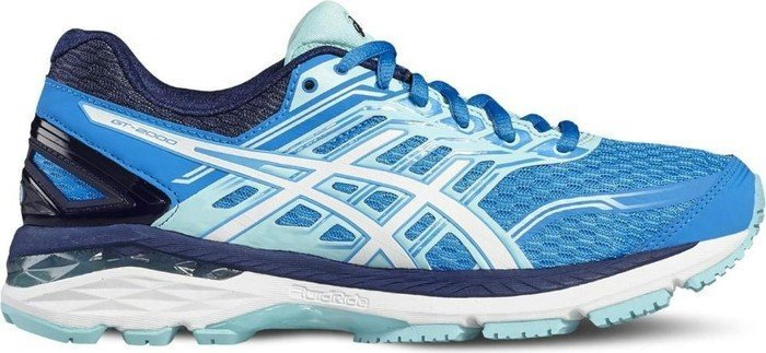 Asics GT-2000 5 diva blue/white/aqua splash (Damen) (T757N-4301)